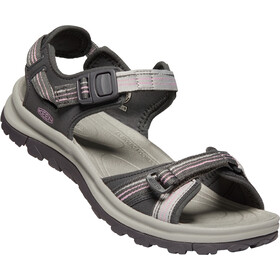 Keen Terradora II Open Toe Sandalen Damen dark grey/dawn pink